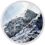 Snowdon Round Beach Towel