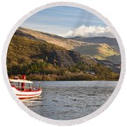 Snowdon Star Round Beach Towel