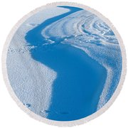 Snowforms 4 Round Beach Towel