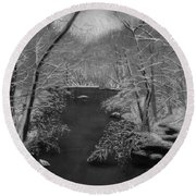 Snowy River Round Beach Towel