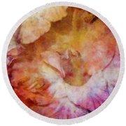 Soft As A Peach 3032 Idp_2 Round Beach Towel
