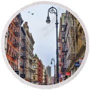 Soho Round Beach Towel