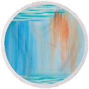 Solace Round Beach Towel