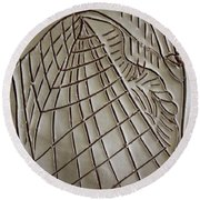 Solemnity - Tile Round Beach Towel