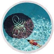 Solo Float Round Beach Towel