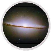 Sombrero Galaxy M104 Round Beach Towel