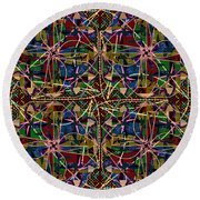 Some Harmonies And Tones 84 Round Beach Towel