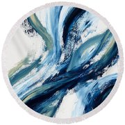 Something. Round Beach Towel