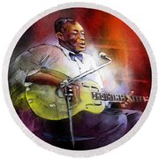 Son House Round Beach Towel