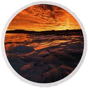 Song Of Ice And Fire Round Beach Towel