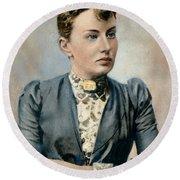 Sonya Kovalevsky (1850-1891) Round Beach Towel