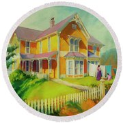 Sophie And Rose Round Beach Towel