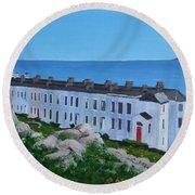 Sorrento Terrace, Dalkey Round Beach Towel