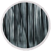 Soul Searching Round Beach Towel