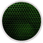 Sound And Vision 3 Round Beach Towel