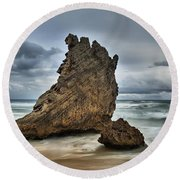 South Africa Round Beach Towel