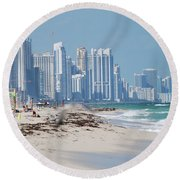 South Beach Baby Round Beach Towel