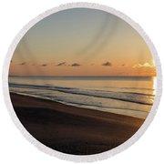 South Carolina Sunrise Round Beach Towel