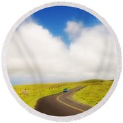 South Kohala Round Beach Towel