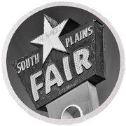South Plains Fair Round Beach Towel