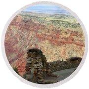 South Rim Grand Canyon  Round Beach Towel