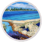 Southampton Dunes Round Beach Towel