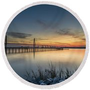 Southern Allure Round Beach Towel