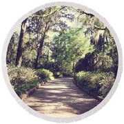 Southern Beauty 2 - Tallahassee, Florida Round Beach Towel