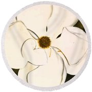 Southern Beauty Round Beach Towel