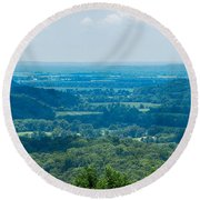 Southern Illinois Round Beach Towel