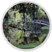 Southern Reflections Round Beach Towel