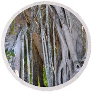 Southern Roots Round Beach Towel