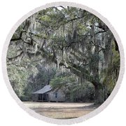 Southern Shade Round Beach Towel