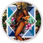 Sovereign Round Beach Towel