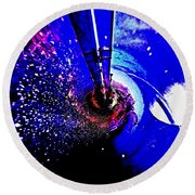 Space The Other Dimension Round Beach Towel