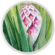 Spanish Dagger II Round Beach Towel