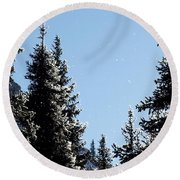 Sparkle And Glitter Round Beach Towel