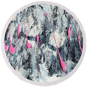Sparkle Round Beach Towel