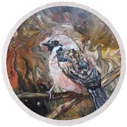 Sparrow Round Beach Towel