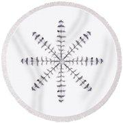 Sparrowhawk 3 Round Beach Towel