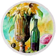 Special Occasion Round Beach Towel