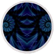 Spectacularity Round Beach Towel
