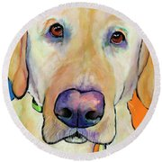 Spenser Round Beach Towel