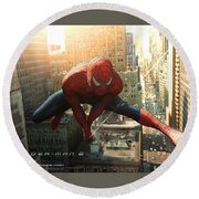 Spider-man 2 Round Beach Towel