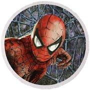 Spiderman Round Beach Towel