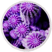 Spiky Bunch 1.1 Round Beach Towel