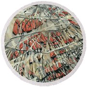 Spinart Riverwash II Round Beach Towel