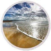 Spindrift # 167 Round Beach Towel