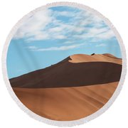 Spine Of The Desert Round Beach Towel