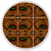 Spinners Round Beach Towel